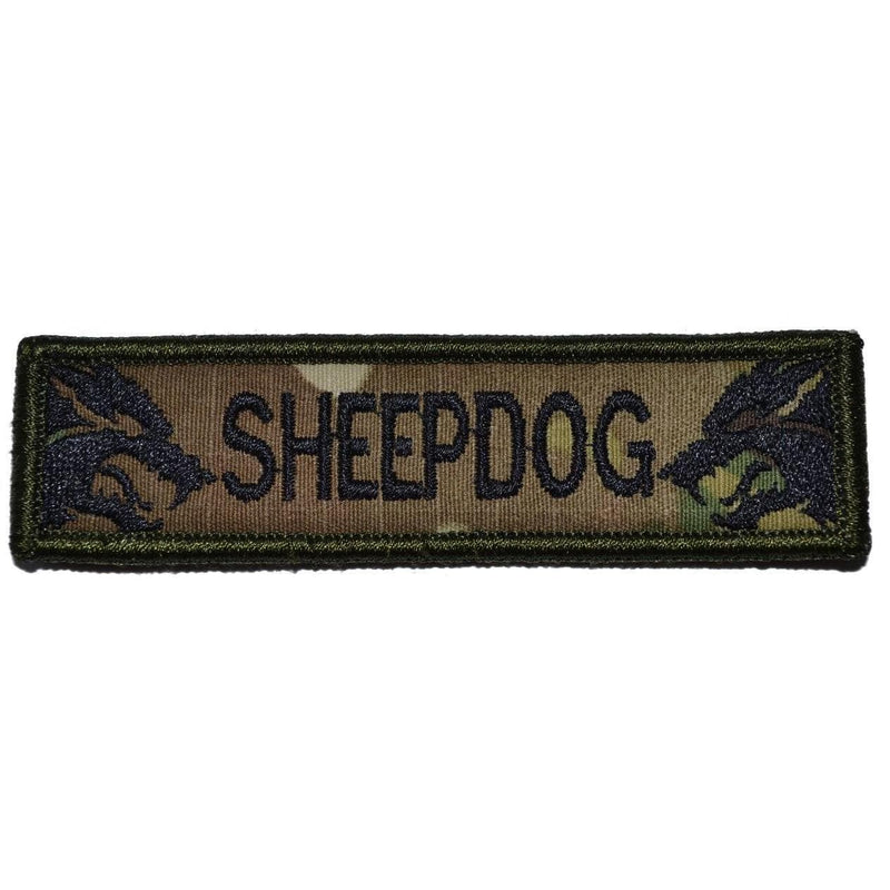 Tactical Gear Junkie Patches MultiCam Sheepdog - 1x3.75 Patch