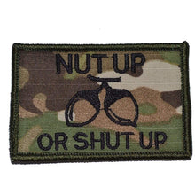Nut Up or Shut Up - 2x3 Patch