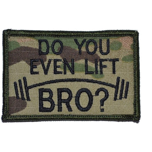 Do You Even Lift Bro? - 2x3 Patch