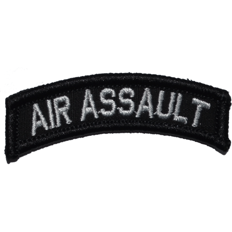 Tactical Gear Junkie Patches Black Air Assault Tab Patch