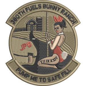 380th Fuels Bunny Ranch Patch
