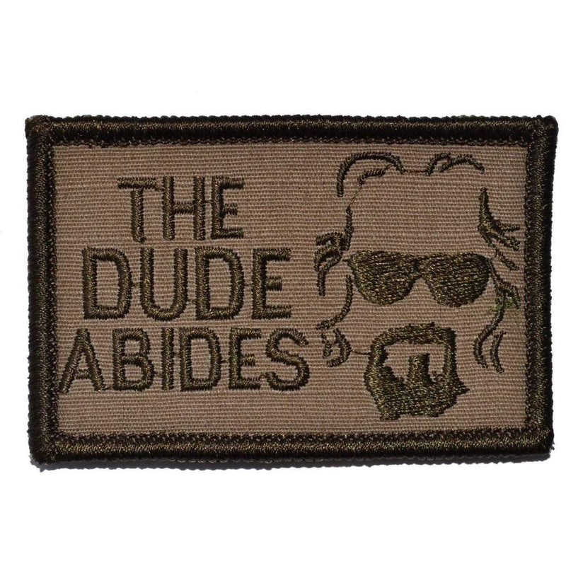 The Dude Abides, The Big Lebowski - 2x3 Patch