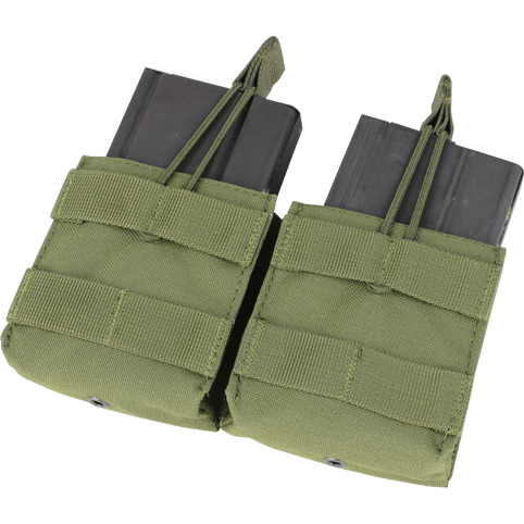 Condor Tactical Gear Olive Drab Condor Double Open-Top M14 Mag Pouch