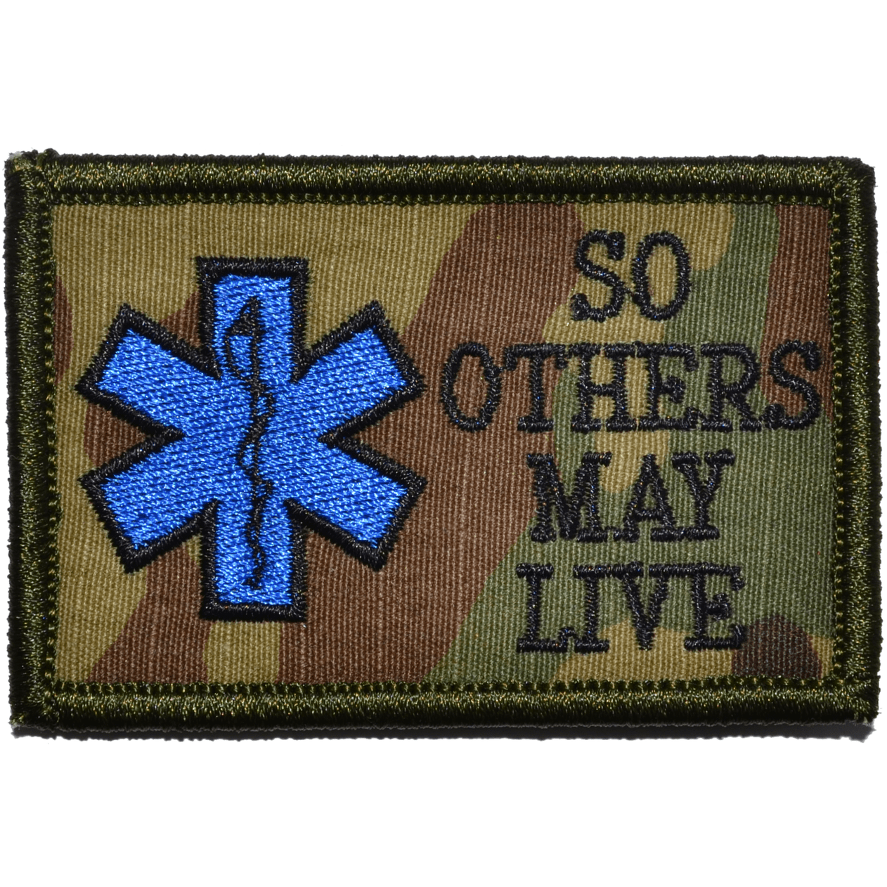 Tactical Gear Junkie Patches MultiCam EMS So Others May Live - 2x3 Patch