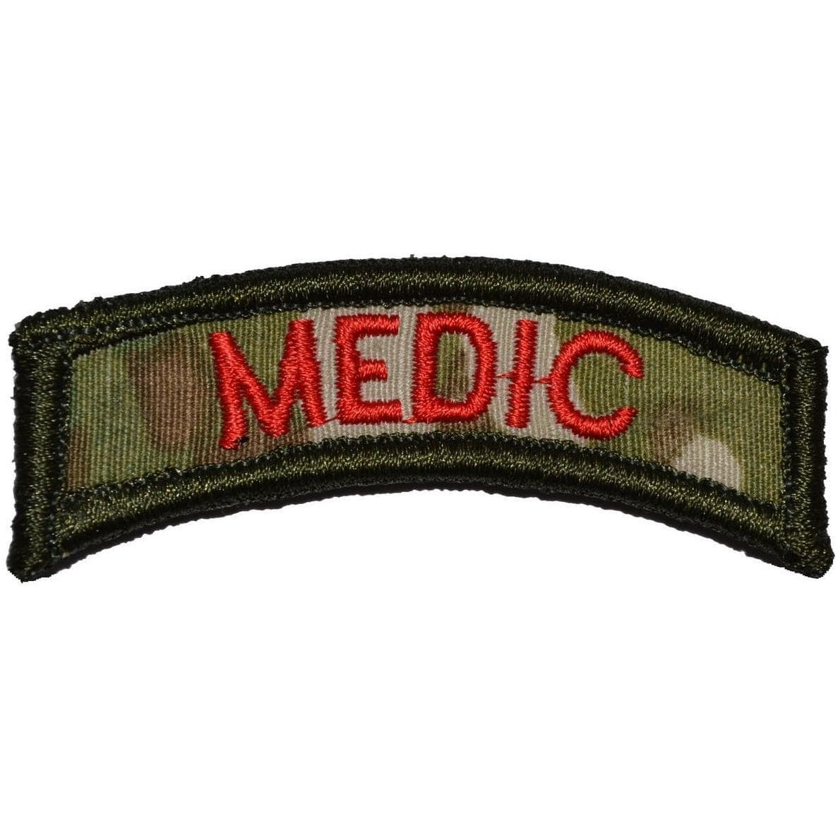 Tactical Gear Junkie Patches MultiCam Medic Tab Patch