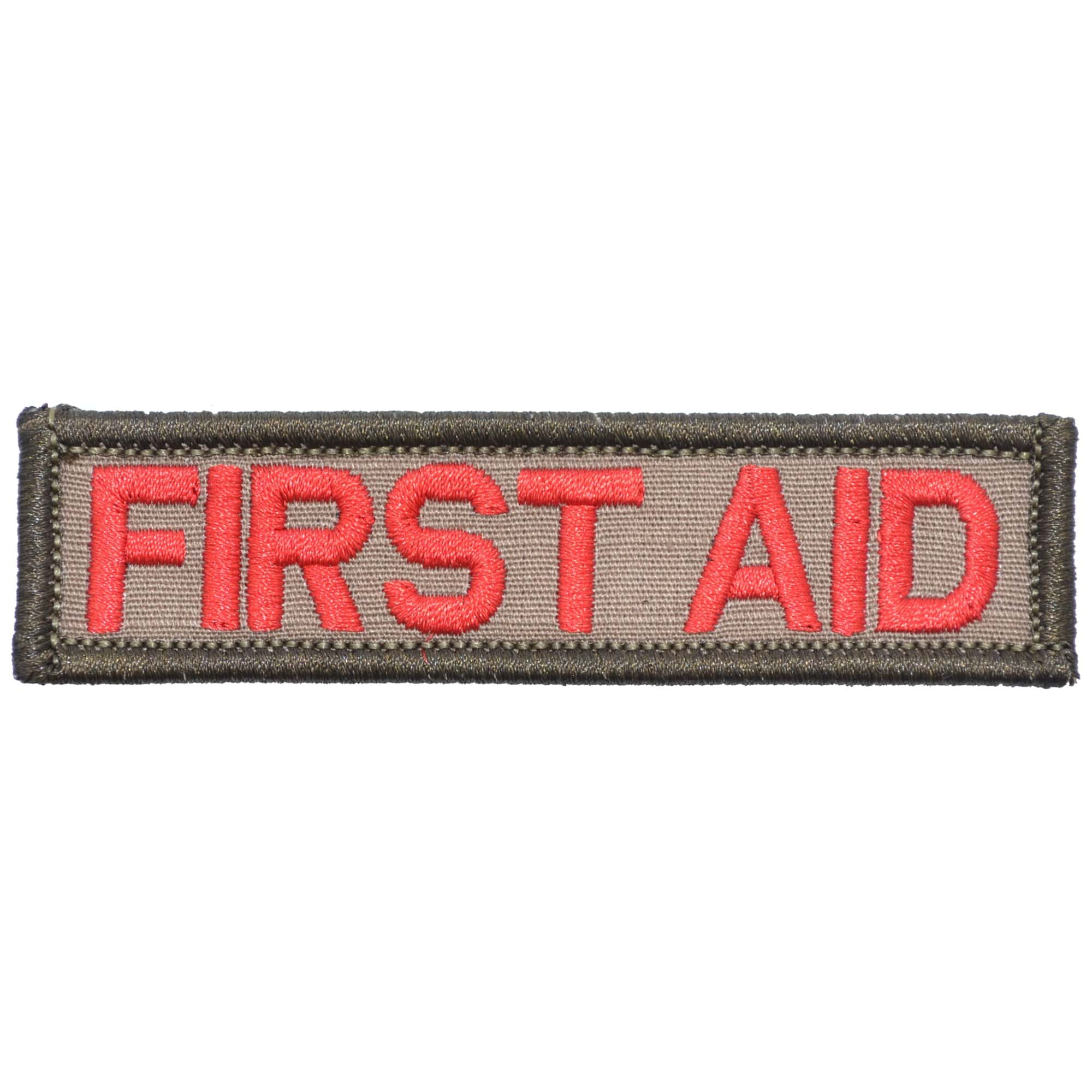 Tactical Gear Junkie Patches Desert Sand First Aid - 1x3.75 Patch