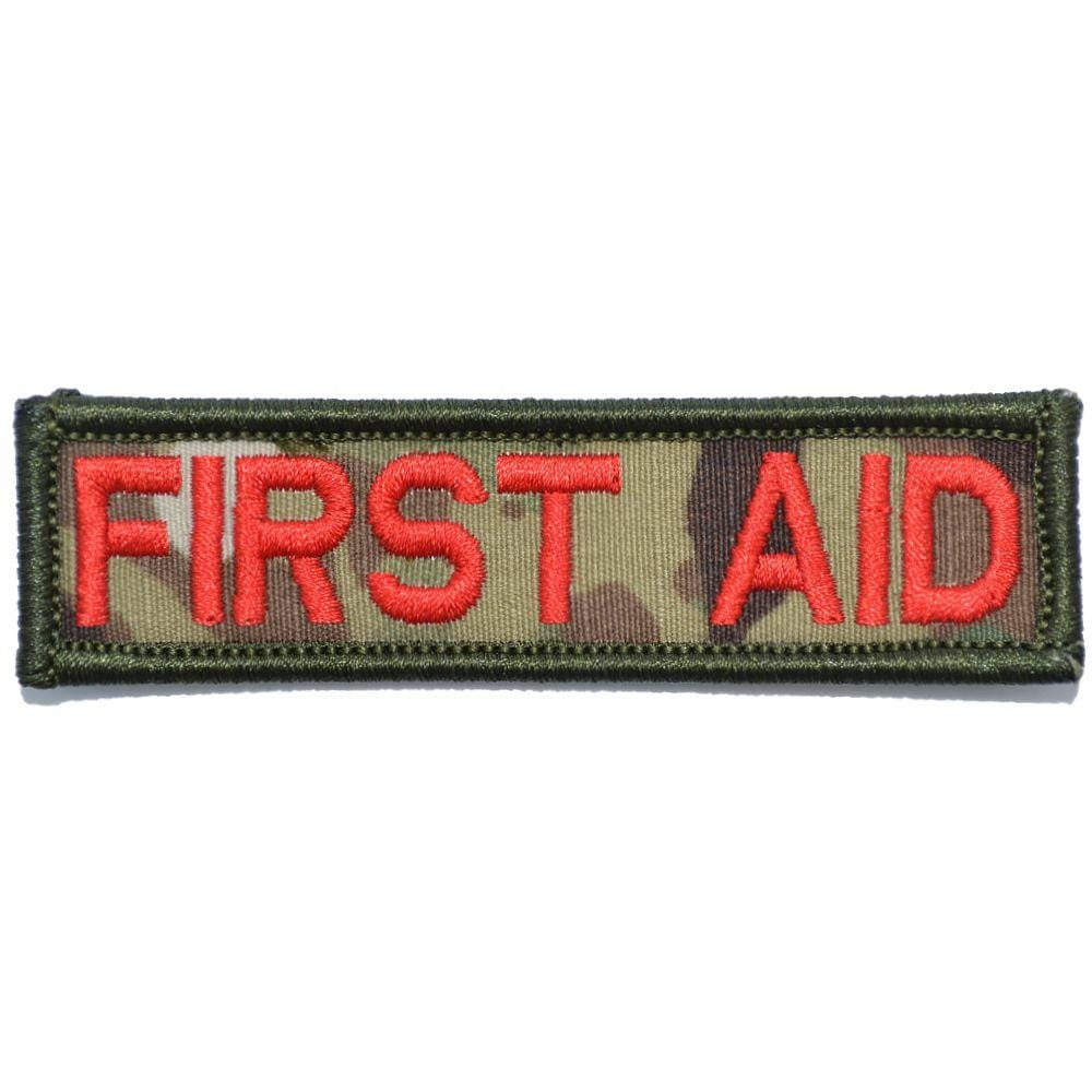 Tactical Gear Junkie Patches MultiCam First Aid - 1x3.75 Patch