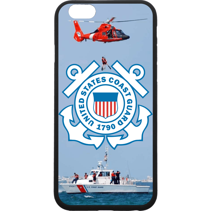 Tactical Gear Junkie Printed Accessories iPhone 6/6s US Coast Guard Emblem - Smartphone Case - Choose Your Phone
