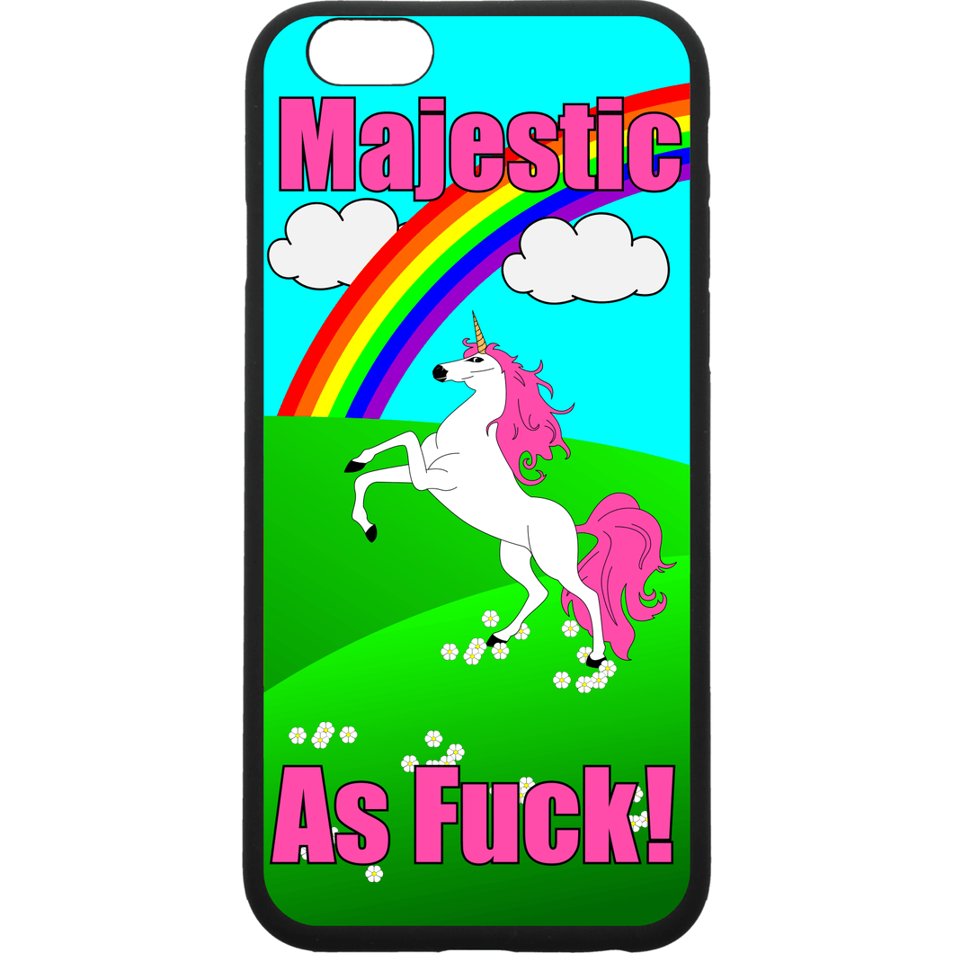 Majestic As Fuck Unicorn - Smartphone Case - Choose Your Phone