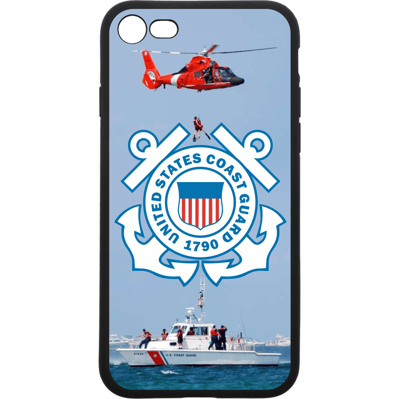 Tactical Gear Junkie Printed Accessories iPhone 7/8 US Coast Guard Emblem - Smartphone Case - Choose Your Phone