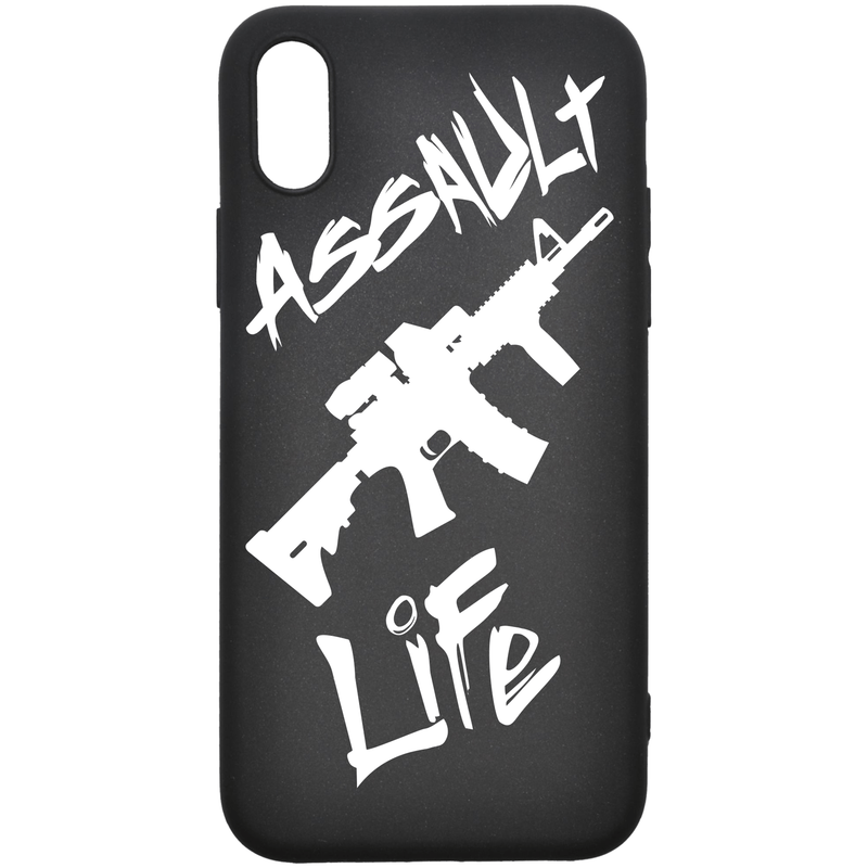 Tactical Gear Junkie Printed Accessories iPhone XS Max Assault Life - Smartphone Case - Choose Your Phone