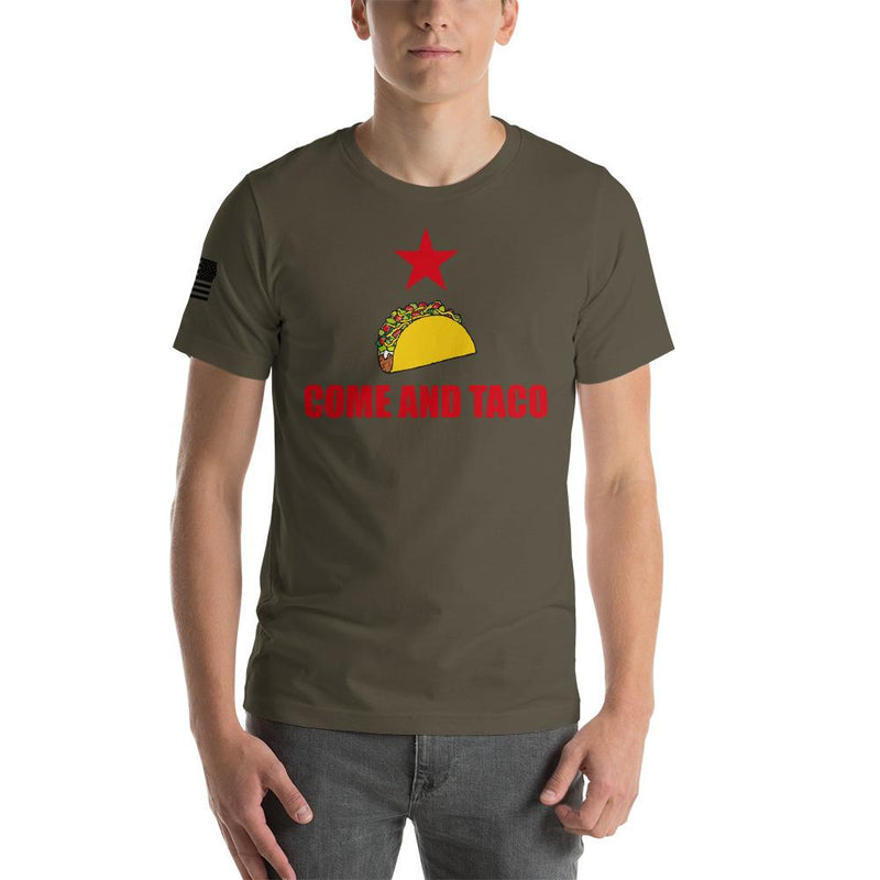 Come and Taco Short-Sleeve Unisex T-Shirt