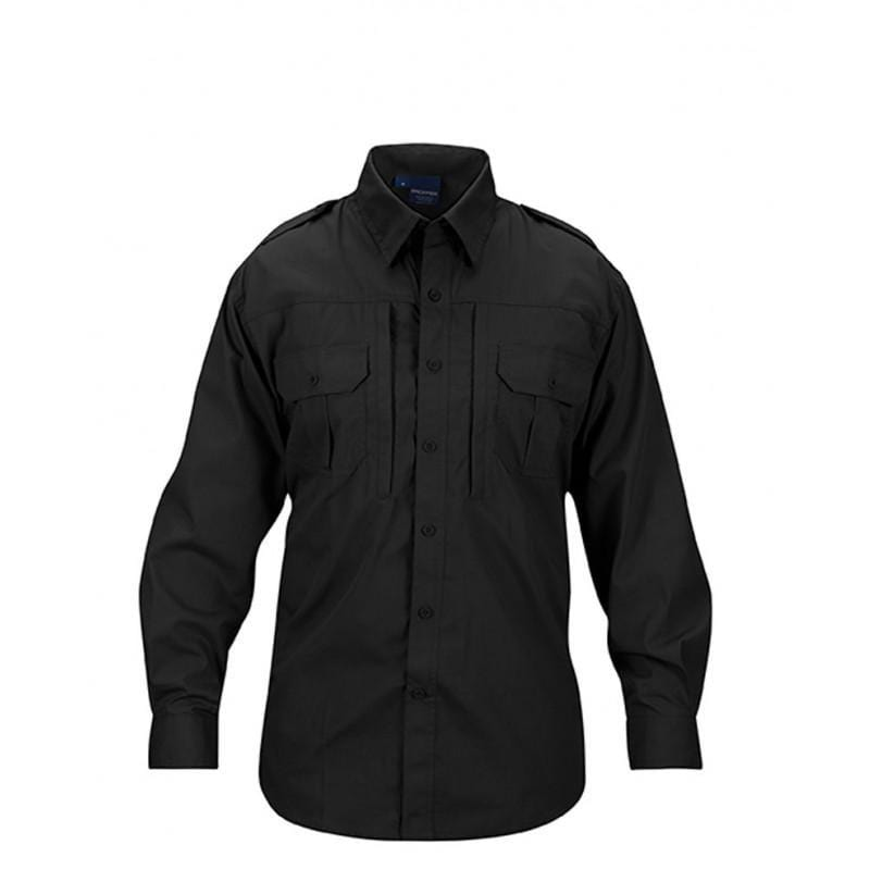 Propper Men's Tactical Shirt – Long Sleeve - Black