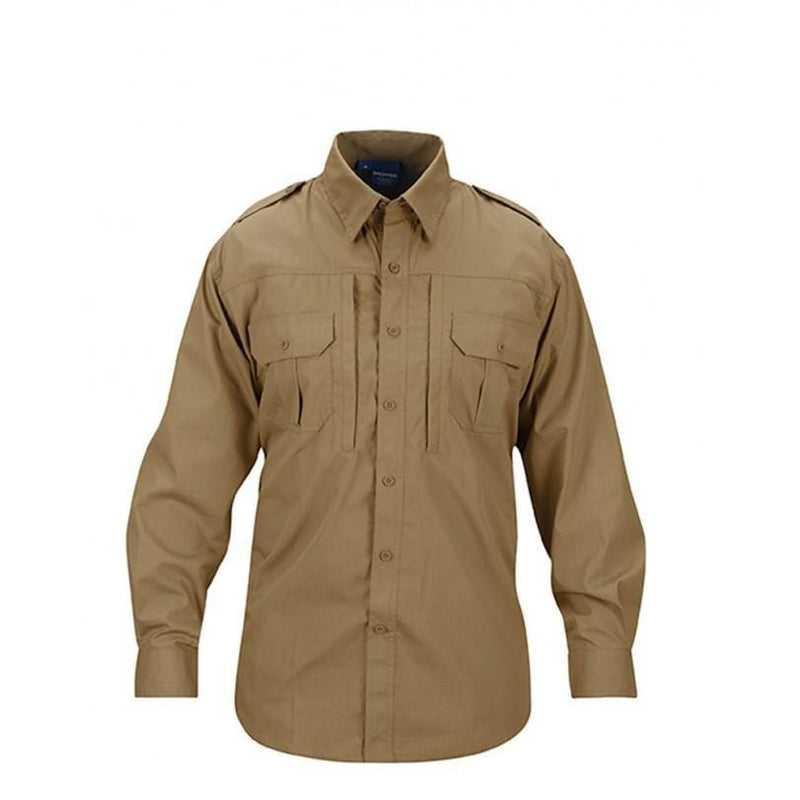 Propper Men's Tactical Shirt – Long Sleeve - Coyote