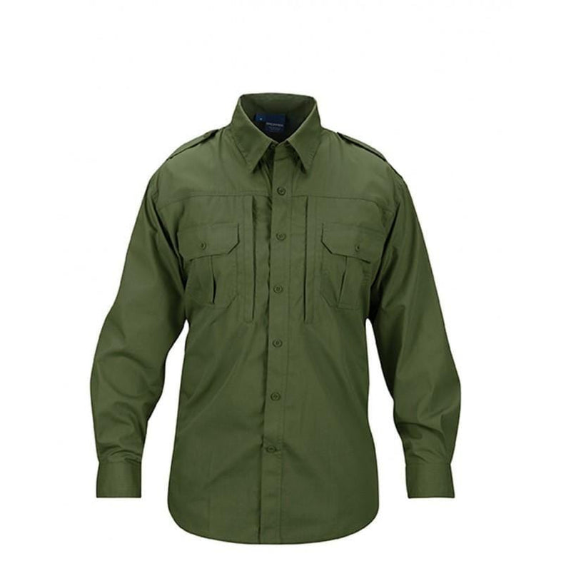 Propper Men's Tactical Shirt – Long Sleeve - Olive