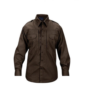Propper Men's Tactical Shirt – Long Sleeve - Sheriff's Brown
