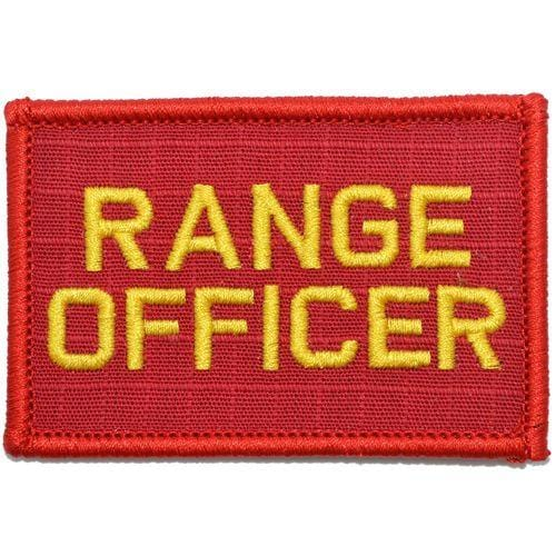Range Officer - 2x3 Patch