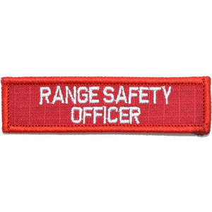 Range Safety Officer - 1x3.75 Patch