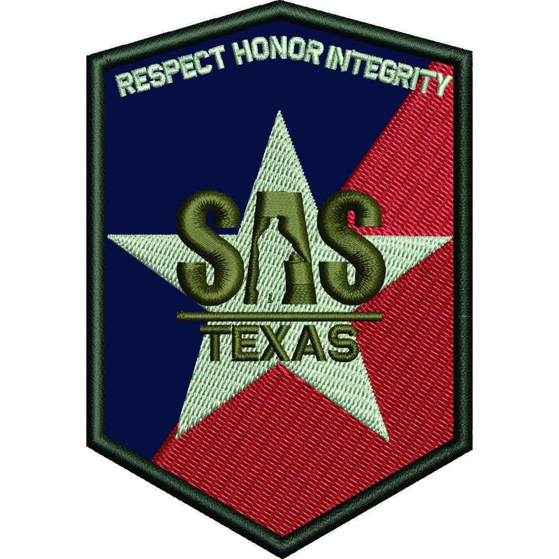 Tactical Gear Junkie Patches SAS Texas Team - Shield Patch