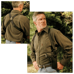 Uncle Mikes Uncle Mikes - Sidekick Vertical Shoulder Holster