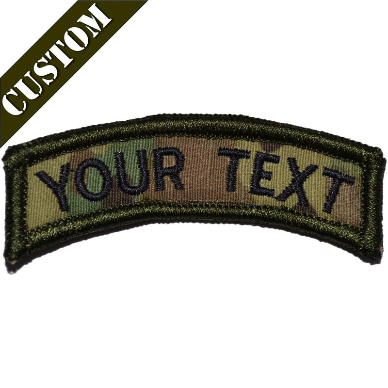 Tactical Gear Junkie Patches Custom Text Patch - Tab