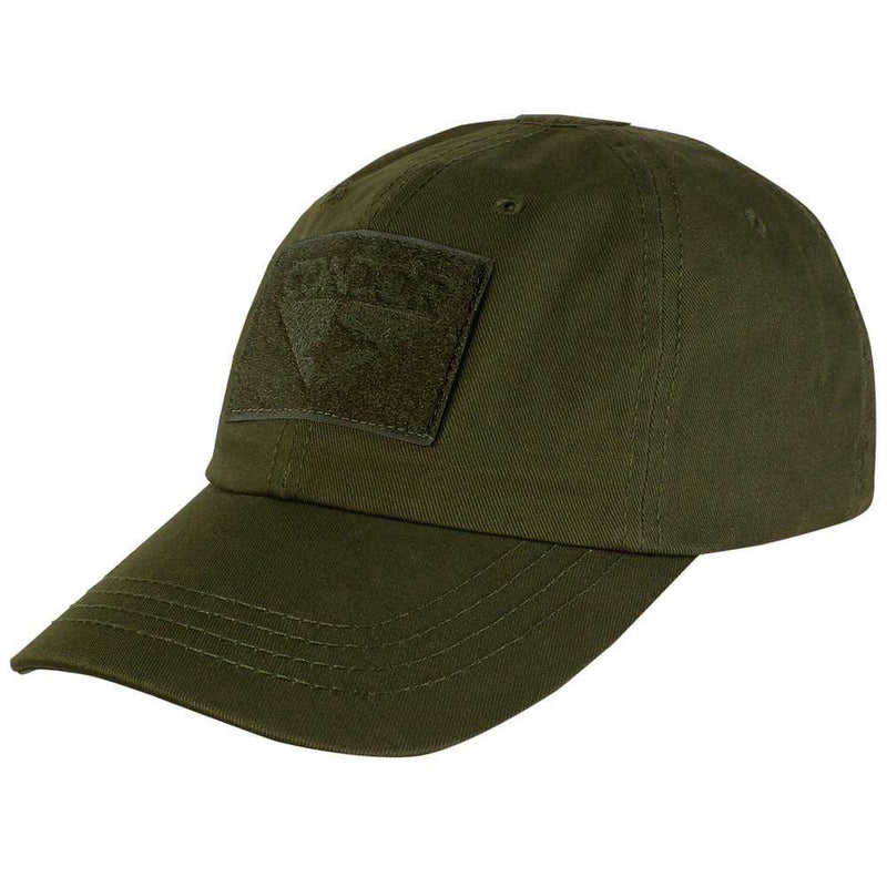 Condor Apparel Olive Drab Condor Tactical Operator Hat - Solid Backed