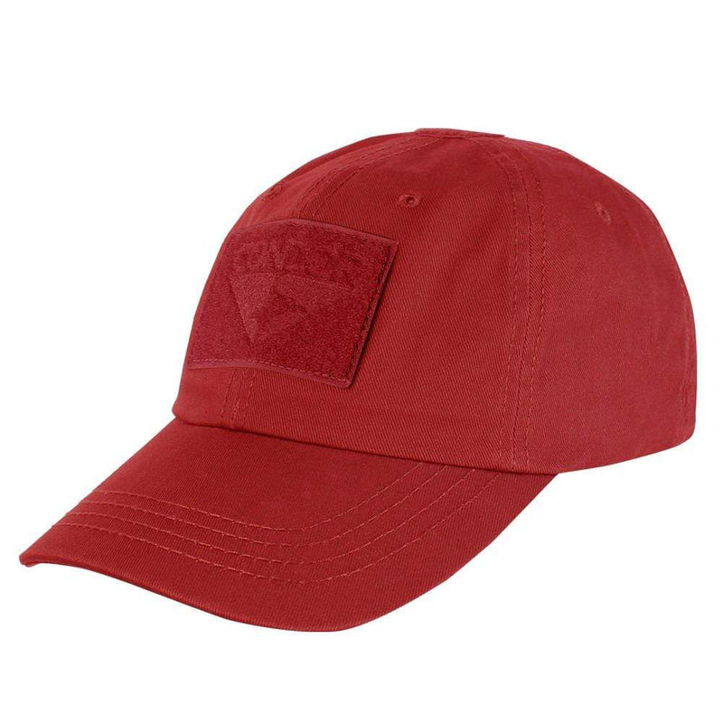 Condor Apparel Red Condor Tactical Operator Hat - Solid Backed