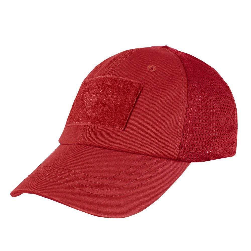 Condor Apparel Red Condor Tactical Operator Hat - Mesh Backed