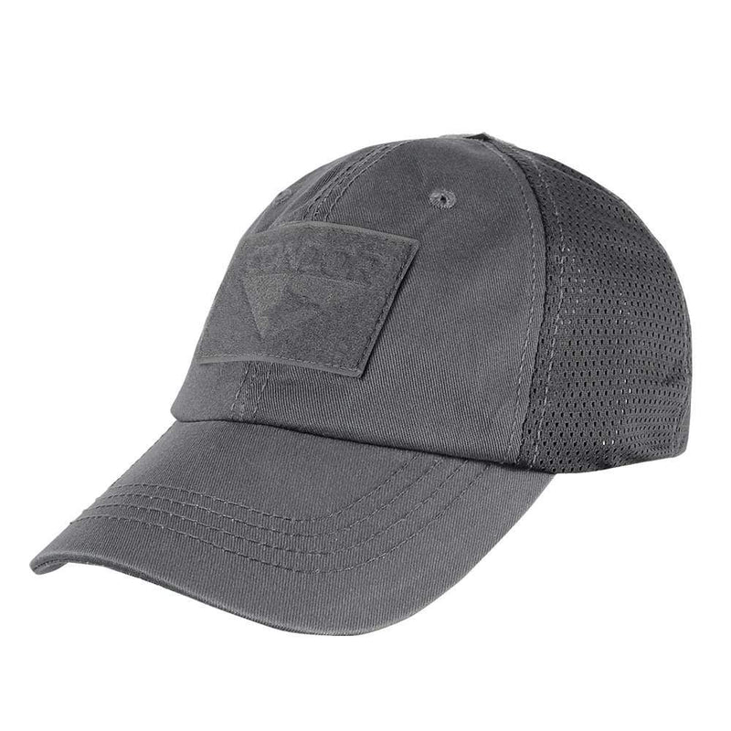 Condor Apparel Graphite Condor Tactical Operator Hat - Mesh Backed