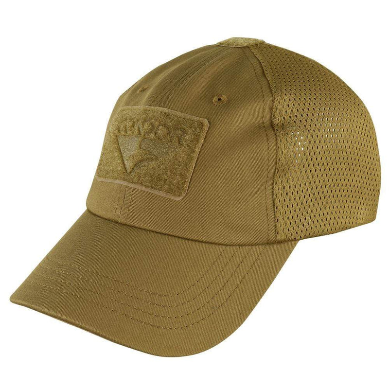 Condor Apparel Coyote Brown Condor Tactical Operator Hat - Mesh Backed
