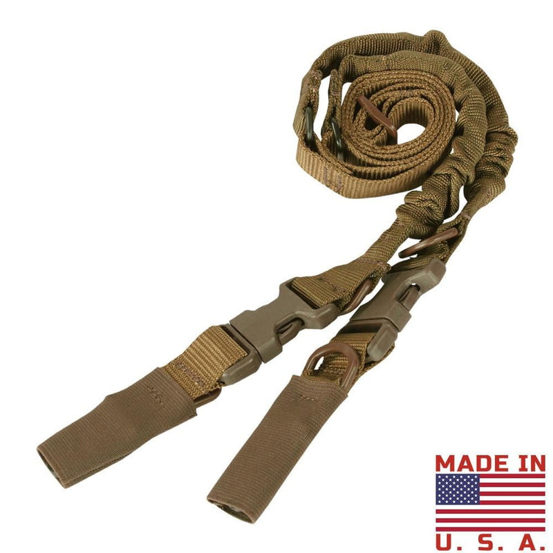 Condor Tactical Gear Coyote Brown Condor CBT Bungee Sling