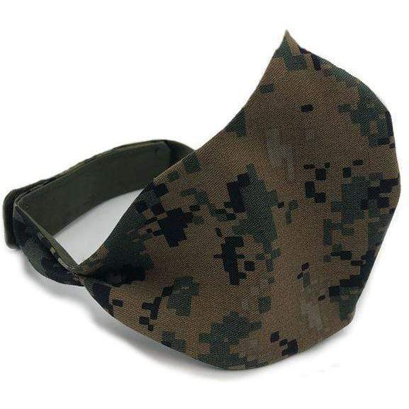 Tactical Gear Junkie Apparel Woodland Marpat / Small/Medium Tactical Face Mask - USA Made - Gen II