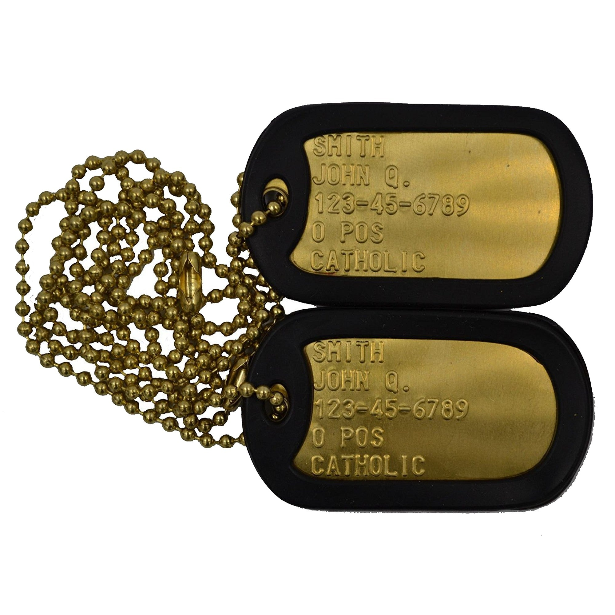 Custom Brass Dog Tags