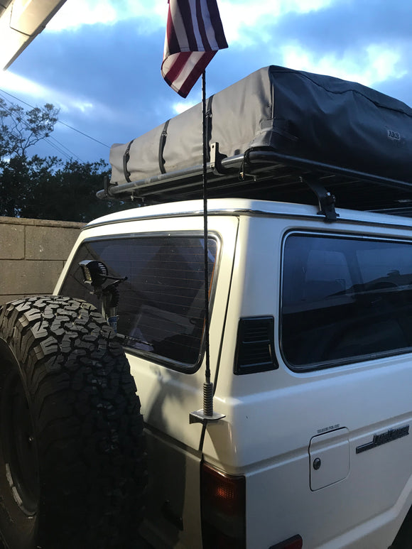 Rear Antenna / Light Mounts COMBO PACK - FJ60 FJ62 Toyota Land Cruiser