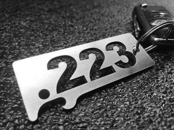 .223 Remington  - Stainless Steel Keychain Bottle Opener