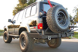 Rear Antenna / Light Mounts COMBO PACK - FJ80 Toyota Land Cruiser Lexus LX450