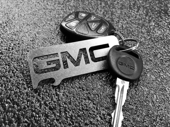 GMC - Stainless Steel Keychain Bottle Opener