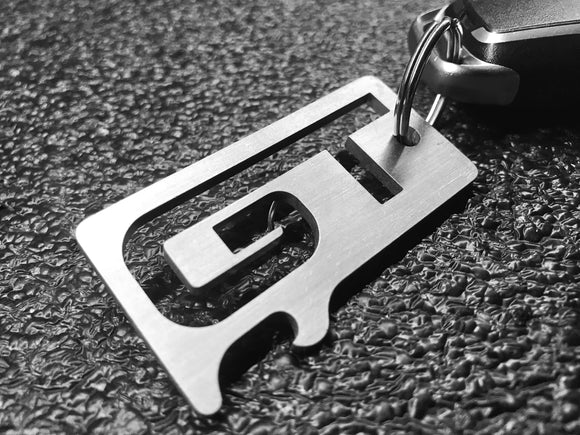 GT - Stainless Steel Keychain Bottle Opener - MustangGT