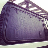 Gull Wing Hatch System with Molle Panels in ALUMINUM
