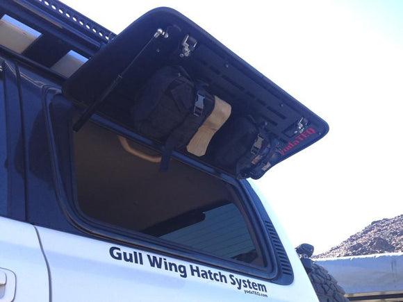 Gull Wing Hatch System with Molle Panels in STEEL