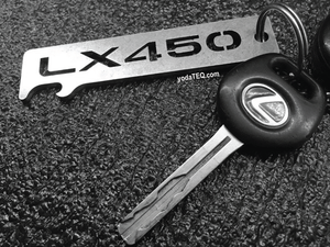 LEXUS - LX450 - Stainless Steel Keychain Bottle Opener