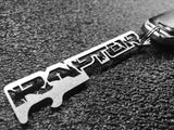 FORD F-150 RAPTOR - Stainless Steel Keychain Bottle Opener