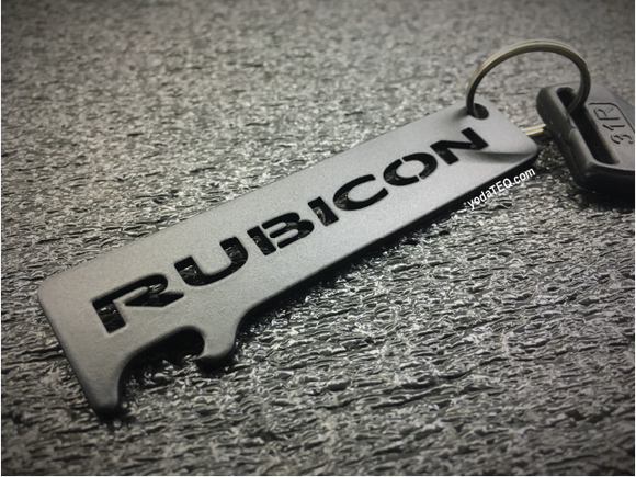 RUBICON - Onyx Keychain Bottle Opener