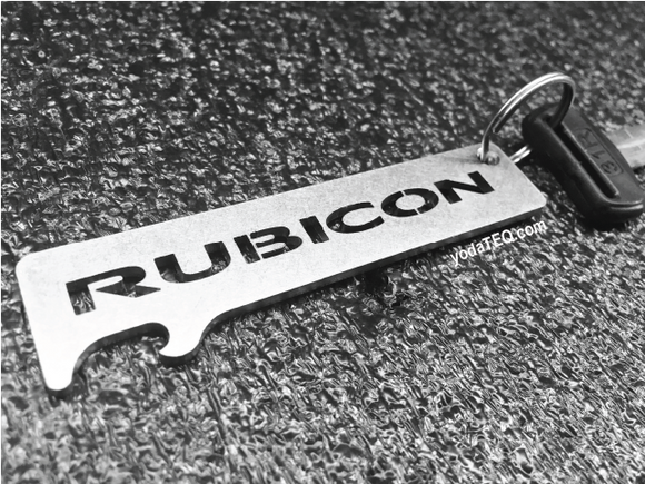 RUBICON - Stainless Steel Keychain Bottle Opener