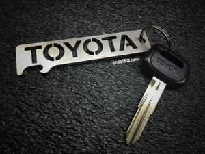 TOYOTA - Stainless Steel Key chain Bottle Opener