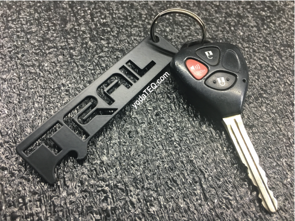 TRAIL - Onyx Keychain Bottle Opener
