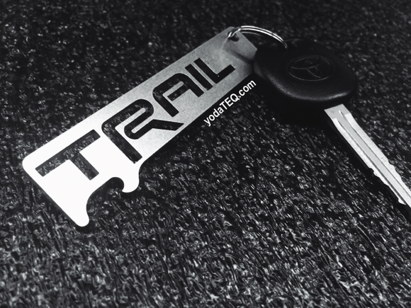 TRAIL - Stainless Steel Keychain Bottle Opener