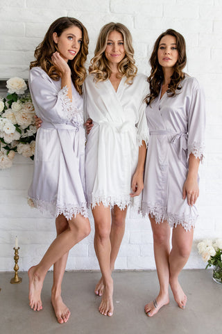 ENGLISH GARDEN Lace Floral Robe