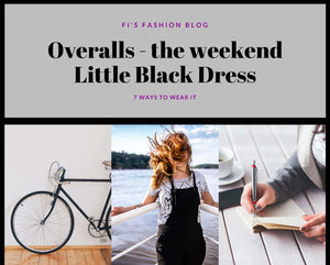 Overalls - The Weekend Little Black Dress