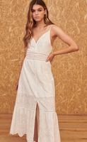 Perla White Dress
